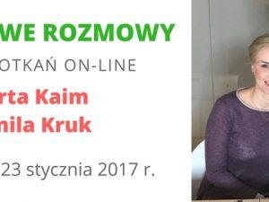 Rozwojowe rozmowy – Kamila Kruk i Marta Kaim